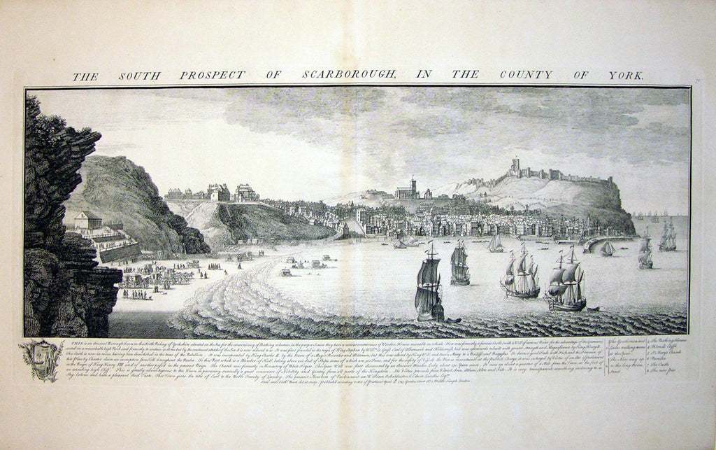 THE SOUTH PROSPECT OF SCARBOROUGH, IN THE COUNTY OF YORK by Buck, Samuel and Nathaniel Buck
