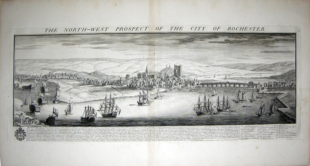 THE NORTH WEST PROSPECT OF THE CITY OF ROCHESTER Buck, Samuel and Nathaniel Buck