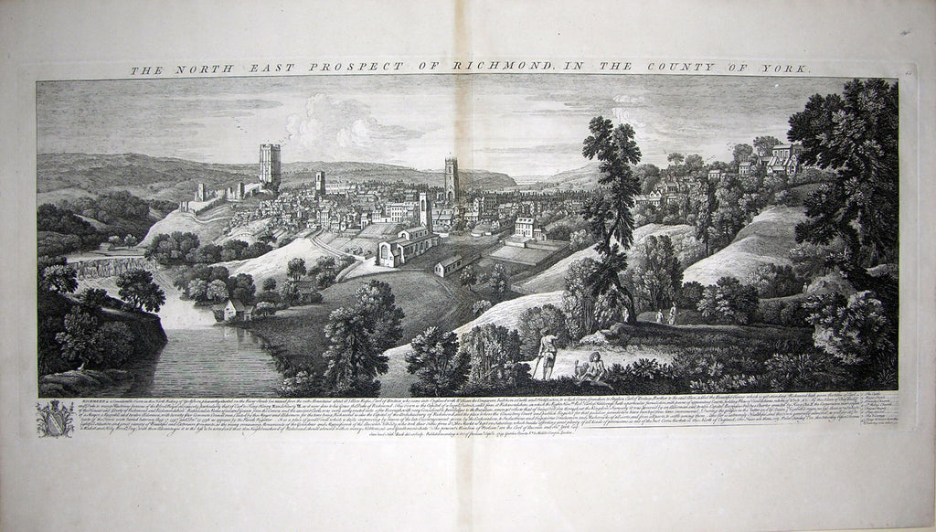 THE NORTH EAST PROSPECT OF RICHMOND, IN THE COUNTY OF YORK. Buck, Samuel and Nathaniel Buck