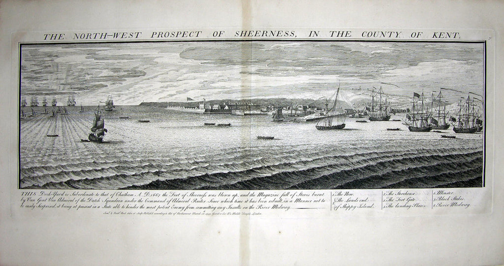 THE NORTH WEST PROSPECT OF SHEERNESS, IN THE COUNTY OF KENT Buck, Samuel and Nathaniel Buck
