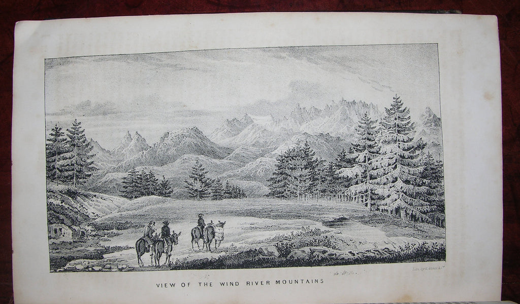 FREMONT, John Charles (1813-1890). Report of the Exploring Expedition to the Rocky Mountains in the Year 1842, and to Oregon and North California in the Years 1843-'44. 28th Congress, 2d Session, [174]. Washington: Gales and Seaton, 1845.