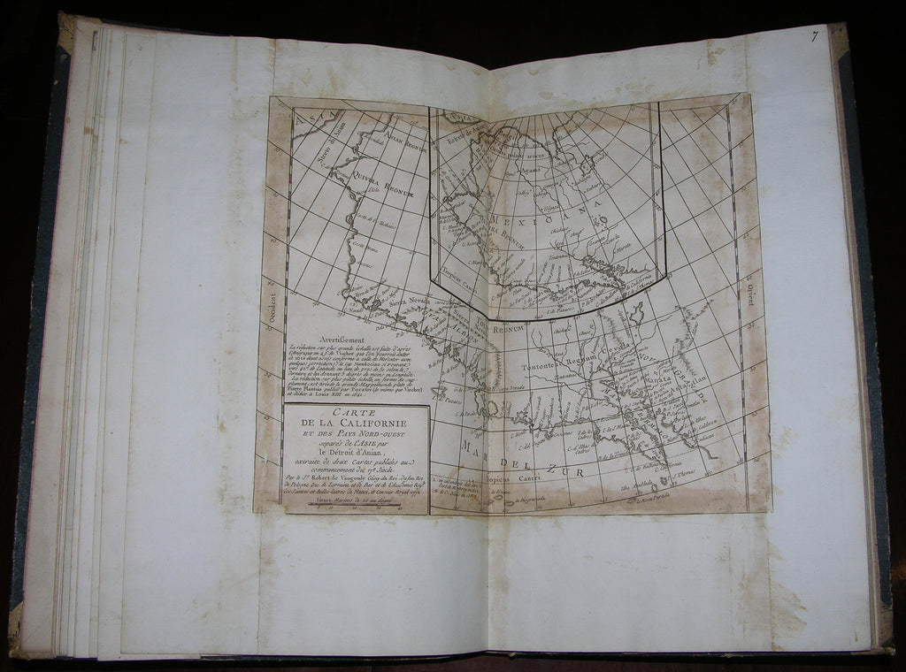 [Jean Baptiste Bourguignon d'Anville (1697-1782), Rigobert Bonne (1727-1795), Jacques Nicolas Bellin (1703-1772) et al.]. [COMPOSITE ATLAS OF THE AMERICAS]. [France]: [d'Anville et al.], [early 19th century].