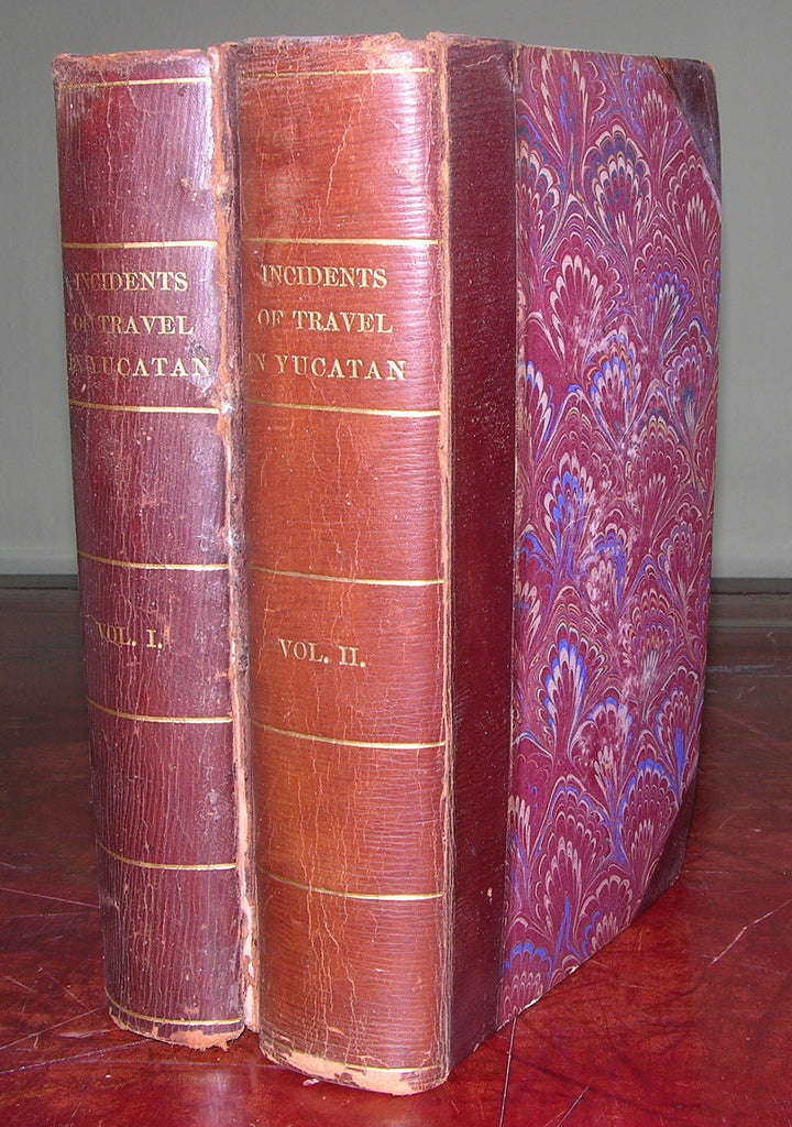 STEPHENS, John Lloyd (1805-1852). Incidents of Travel in Yucatan. New York: Harper & Brothers, 1843.