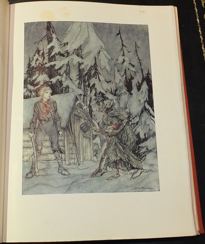RACKHAM, Arthur (1867-1939) and Henrik Ibsen (1828-1906). Peer Gynt. Philadelphia: J. B. Lippincott Co., [1936].