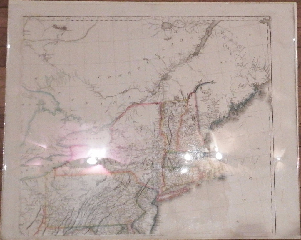 ARROWSMITH Aaron Sr A Map Of The United States Of - 1823 us map
