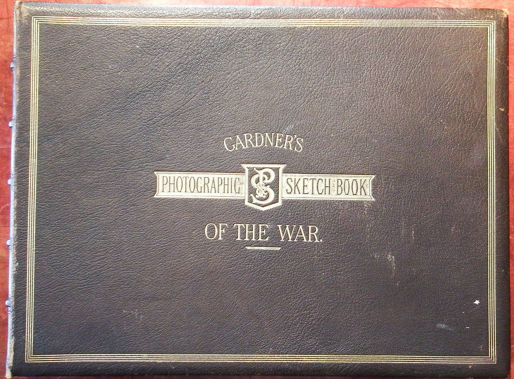 GARDNER, Alexander (1821-1882). Gardner's Photographic Sketch Book of the War. Washington: Philip & Solomons, 1866