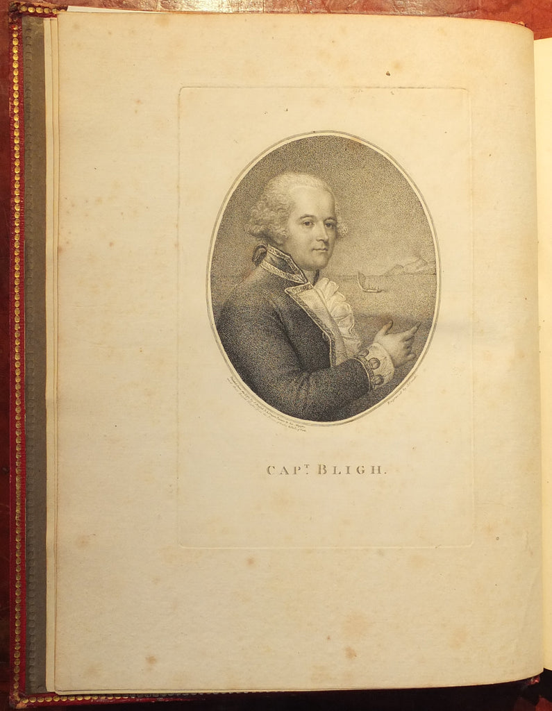BLIGH, William (1754-1817). A Voyage to the South Sea. London: George Nicol, 1792.