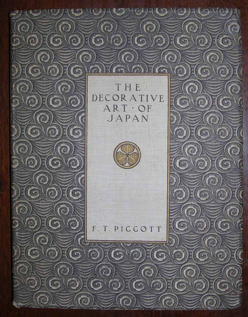 PIGGOTT, Sir Francis Taylor (1852–1925). Studies in the Decorative Art of Japan. London: B.T. Batsford, 1910.