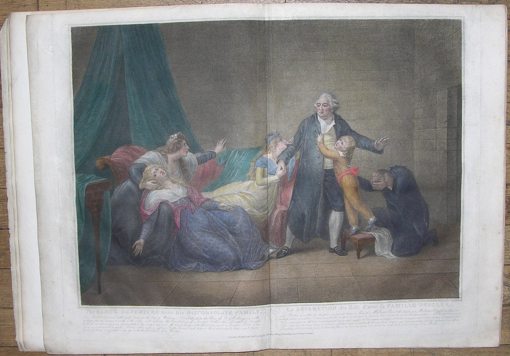 PELLEGRINI, Domenico (1759-1840) - Mariano BOVI (1758-1813). A Graphic History of Louis the Sixteenth, and the Royal Family of France;... London: J.G. Barnard, 1806.