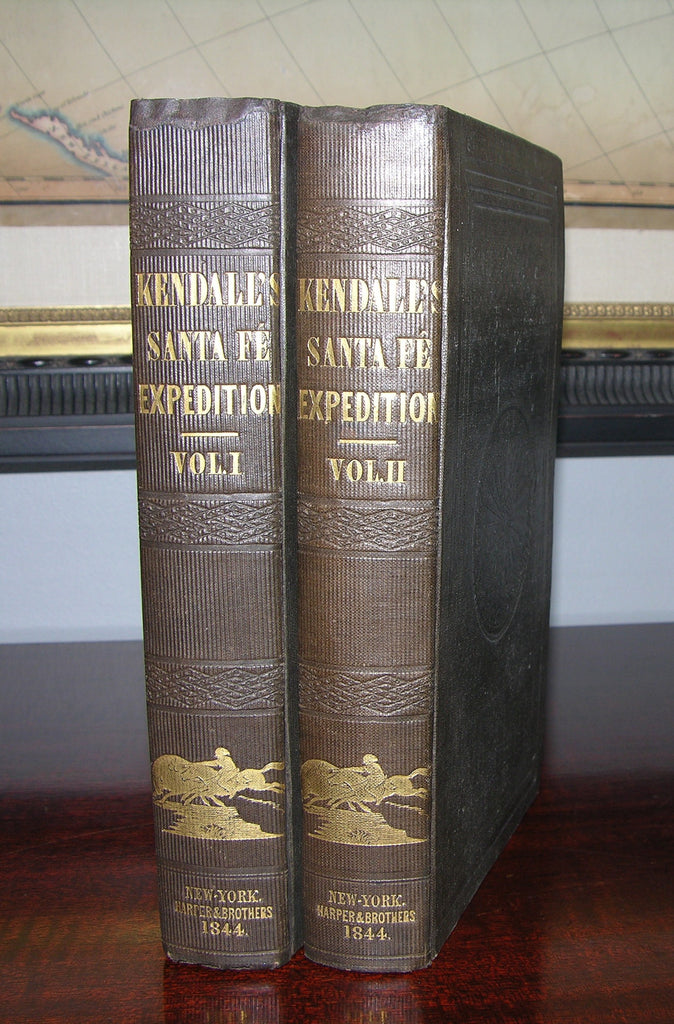 KENDALL, George Wilkins (1809-1867). Narrative of the Texan Sante Fe Expedition. New York: Harper and Brothers, 1844.