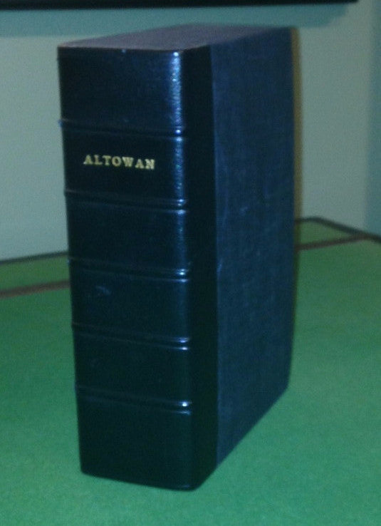 STEWART, William Drummond (ca 1795-1871), Sir. - WEBB, James Watson (1802-1884). Altowan; or, Incidents of Life and Adventure in the Rocky Mountains. By An Amateur Traveler. Edited by J. Watson Webb. New York: Harper & Brothers, 1846.