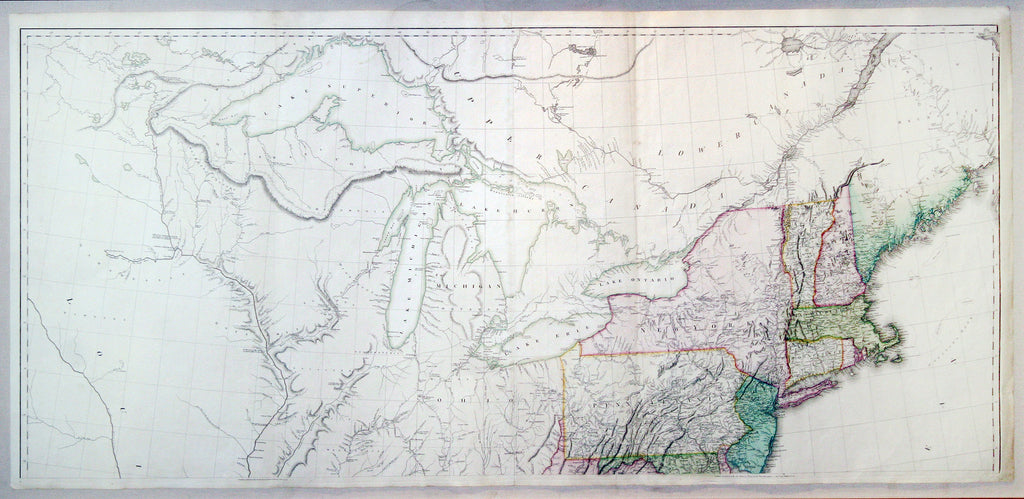 ARROWSMITH Map Of The United States Of North America London - Us map 1796
