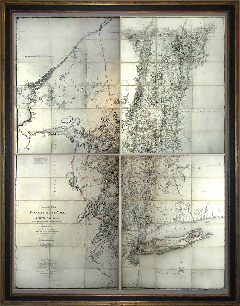Sauthier map new york