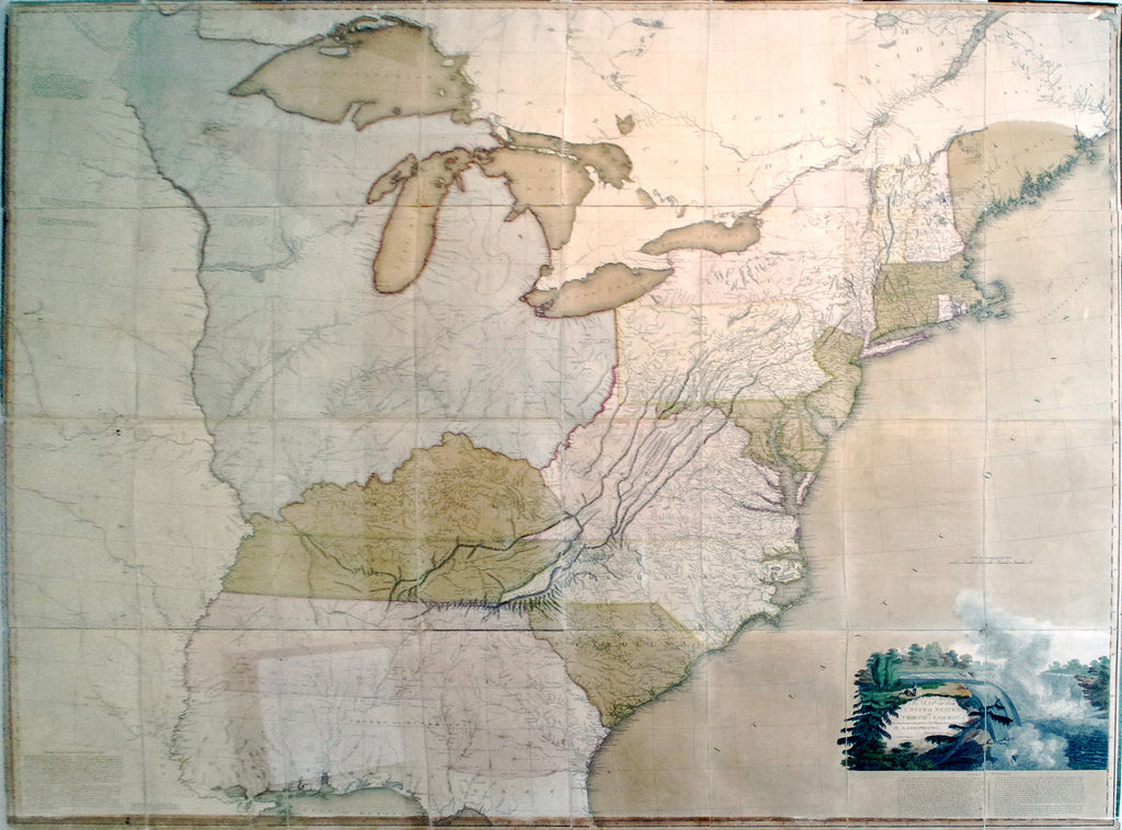 ARROWSMITH Aaron Sr A Map Of The United States Of - Us map 1796