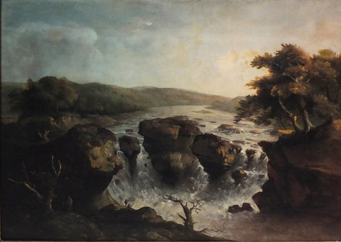 BECK, George Jacob (1748 – 1812). The Falls of the Potomac. Circa 1795 – 1798.