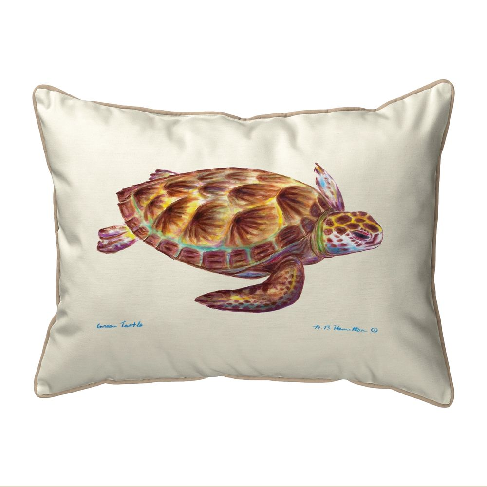 Green Sea Turtle Pillows