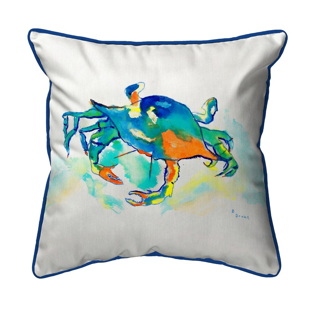 Orange Crab Pillow