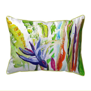 Abstract Bird of Paradise Pillow
