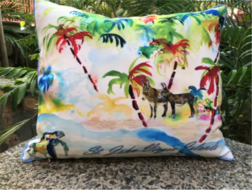St. John Palms Pillow