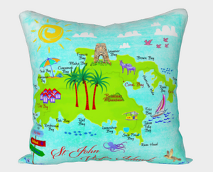 St. John VI Holiday Pillow Cover