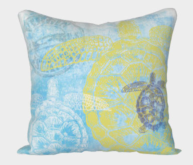 Ocean Icon Pillow Covers