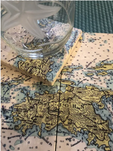 St. John Nautical Coaster set/4