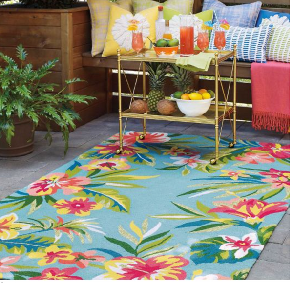 Mai Tai Outdoor/Easy Care Rug