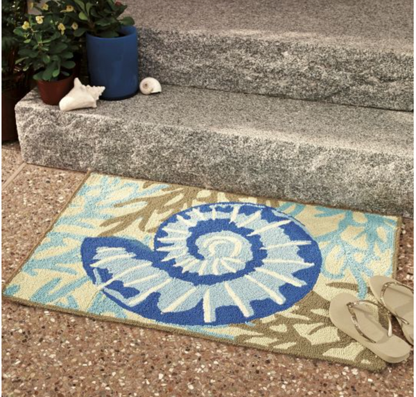 Adrift 2'x3' Outdoor/Easy Care Rug