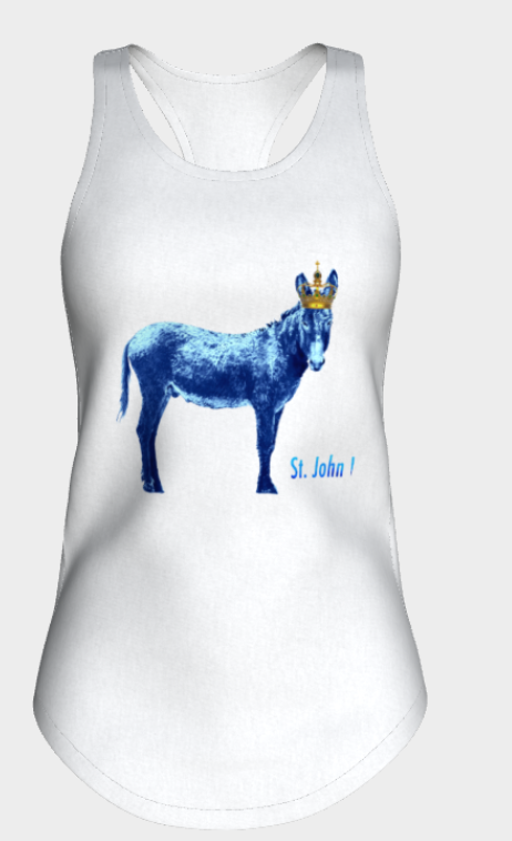 Donkey and Crown Tank Top