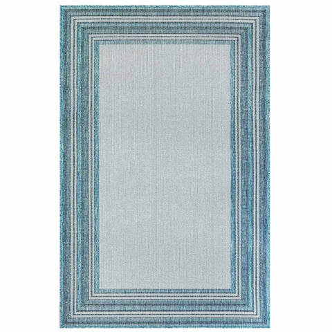 Carmel Multi Border Indoor/Outdoor Rug