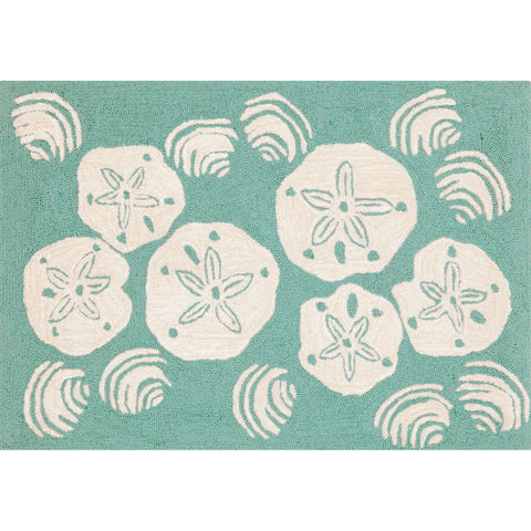 Front Porch Shell Toss Indoor/Outdoor Rug