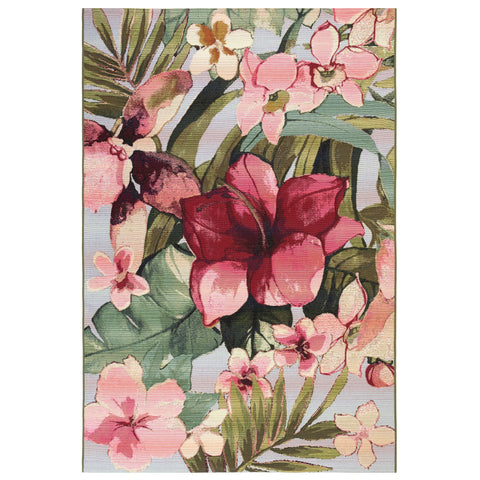 Marina Tropical Flower Indoor/Outdoor Rug