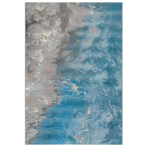 Marina Surf Ocean Indoor/Outdoor Rug
