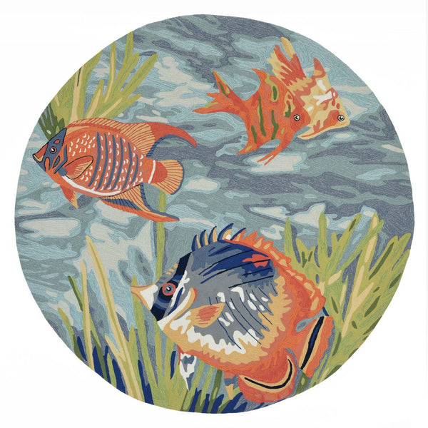 Ravella Tropical Fish Indoor/Outdoor Rug