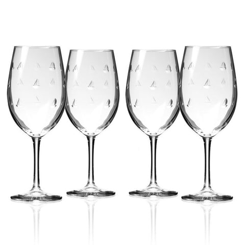 Sailing Glassware Set/4