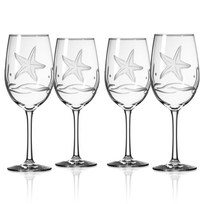 Starfish Glassware Set/4