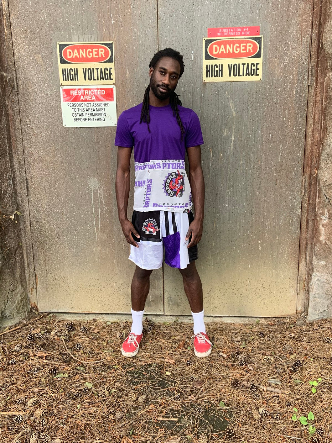 Raptors Purple Vintage Tee