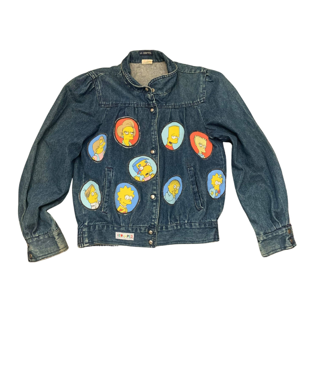The Simpsons Jean jacket
