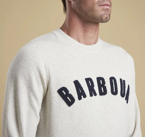 Barbour Prep Logo Crew Neck Sweater