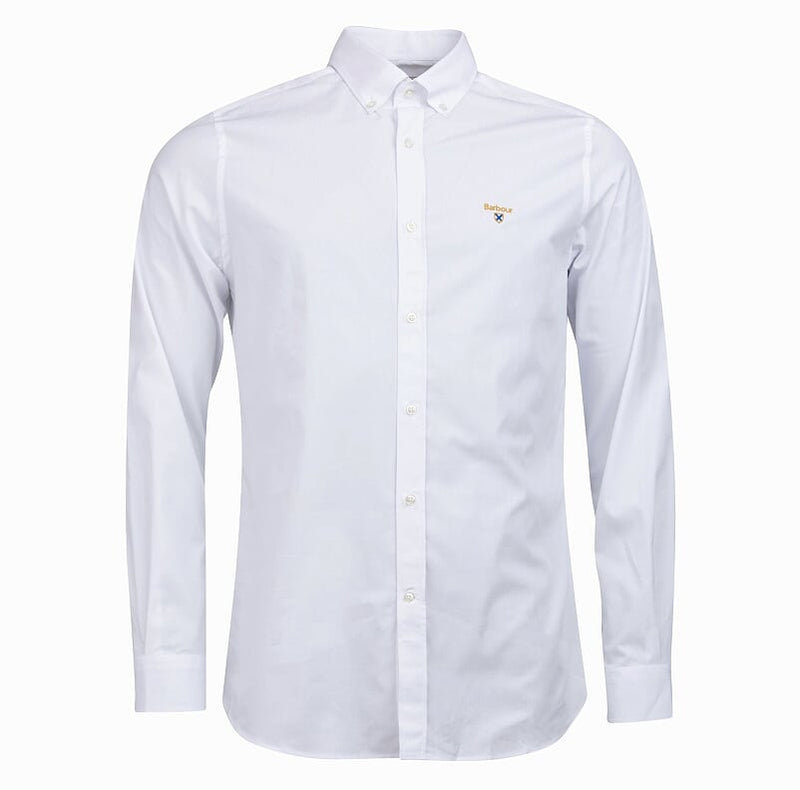 Barbour Saltire Stretch Poplin Shirt