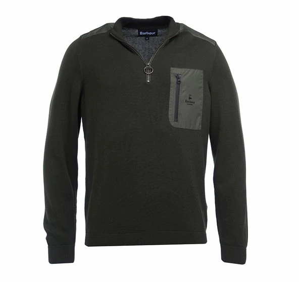 Barbour Almarine Half Zip Sweater