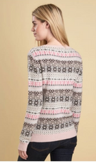 Barbour Tarn Fairisle Crew Neck Sweater