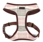 Barbour Pink Tartan Dog Harness