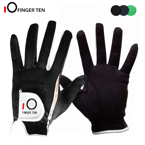 1 Pcs Breathable Soft Rain Grip Golf Gloves for Men Left Right Hand Rain Hot Wet Weathersof Size S M ML L XL