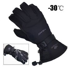 Load image into Gallery viewer, 2020 New Men's Ski Gloves Snowboard Gloves Snowmobile Motorcycle Riding Winter Gloves Windproof Waterproof Unisex Snow Gloves