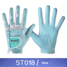 Load image into Gallery viewer, PGM brand golf gloves women's models super fiber cloth anti-skid wear-resisting double hands gloves