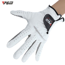 Load image into Gallery viewer, PGM sheepskin men's golf gloves soft breathable anti slip left right hand sports golf glove