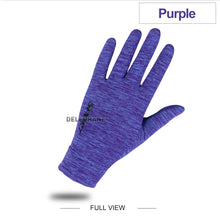 Load image into Gallery viewer, Summer Cooling Ice Silk Gym Gloves Phone Touch Screen Hand Gloves Breathable Riding Gloves Workout Climbing Hiking Women Mittens