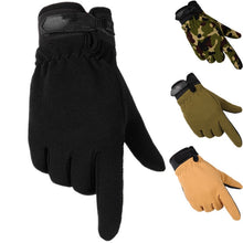 Load image into Gallery viewer, Tactical Gloves Men Women Antiskid Army Military Bicycle Airsoft Motocycle Shooting Riding Cycling Work Gear Camo Men's Gloves