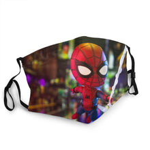 Load image into Gallery viewer, 2020 New Spiderman Customize Gloves Washed Reused Mask Cosplay Women/men Pm2.5 Filter Mask Spiderman Web Shooter Women/men Mask